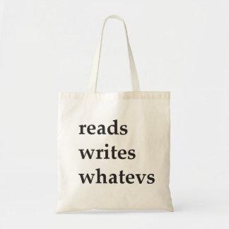 reads writes whatevs