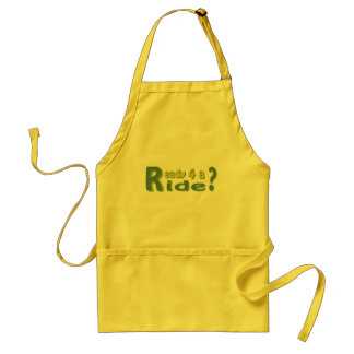Ready 4 a ride? standard apron
