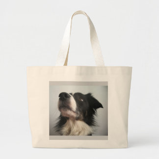 Ready and waiting! large tote bag