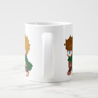 Ready for a walk? giant coffee mug