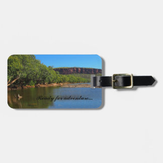 Ready for adventure luggage tag