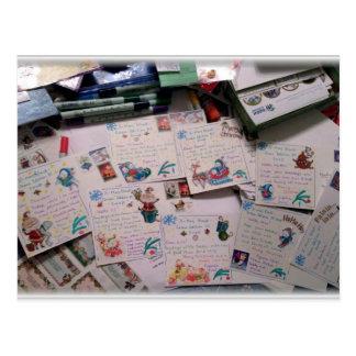 Ready for Christmas! Postcard
