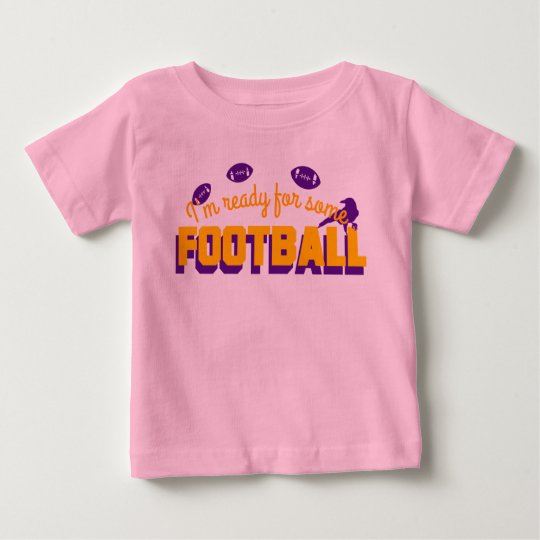 Ready for football! baby T-Shirt