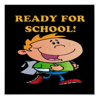 Ready For School 3 Posters