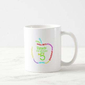 Ready for School B4Five - Apple Coffee Mug