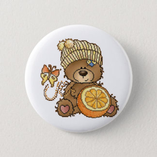 Ready For Spring 2 Inch Round Button
