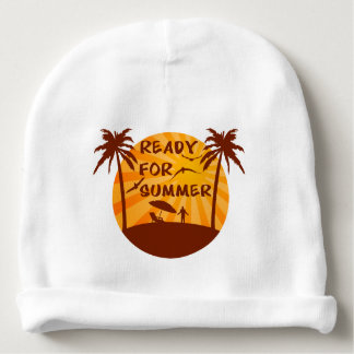 Ready for summer baby beanie