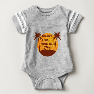 Ready for summer baby bodysuit