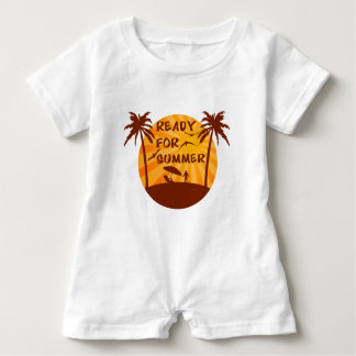 Ready for summer baby romper