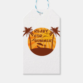 Ready for summer gift tags