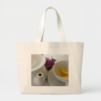 ready for tea large tote bag