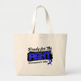 Ready For The Fight Colon Cancer Tote Bags