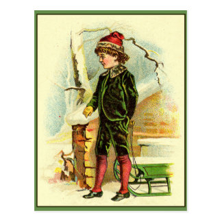"""""""Ready for the slopes"""" Postcard"""