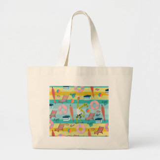 Ready For Unicorn Summer Large Tote Bag