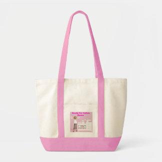 Ready for YaYa's House  Girl's Tote Bag