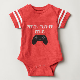 Ready Player Four Gamer Baby Bodysuit