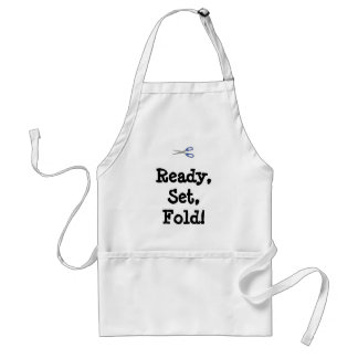 Ready, Set, Fold!  Apron