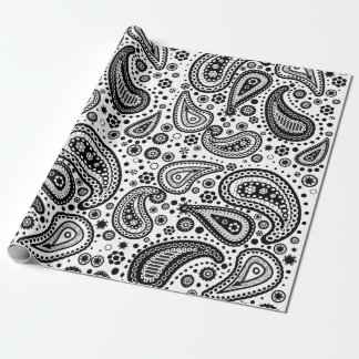 Ready to Color Paisley Patterned Paper