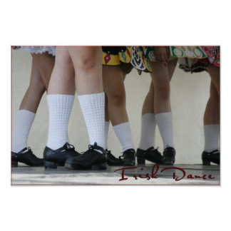 Ready to Dance--Irish Dance Print