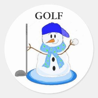 Ready To Golf Classic Round Sticker