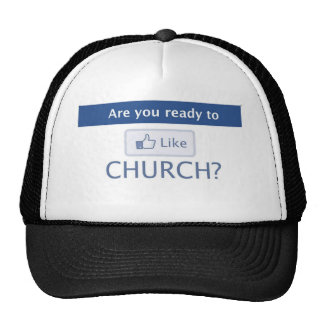 "READY TO ""LIKE"" CHURCH - Apparel Mesh Hat"