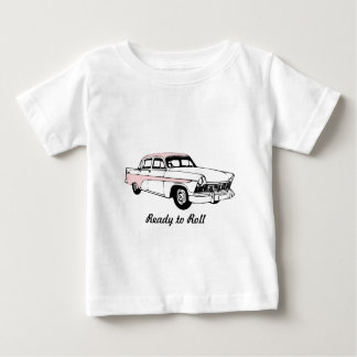 Ready to Roll Vintage Car Baby T-Shirt