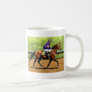 Ready to Run - Race Horse Painting Coffee Mug