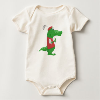 Ready To Swing - Organic baby bodysuit