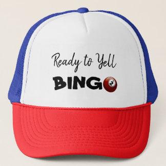 Ready to Yell BINGO Lucky Hat
