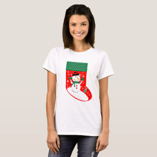 Ready Your Socks for the Holidays version 1 (W) T-Shirt