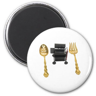ReadyBarbeque071809 2 Inch Round Magnet