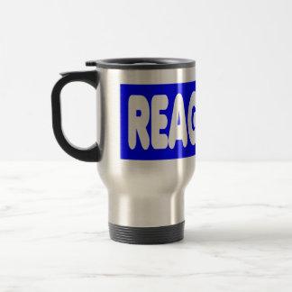 Reagan '84 stainless steel travel mug