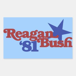 Reagan Bush 1981