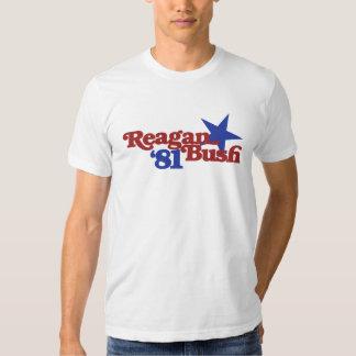 Reagan Bush 1981 T-shirt