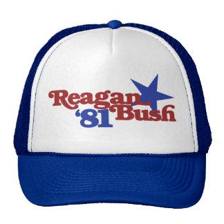 Reagan Bush 1981 Trucker Hat