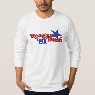 Reagan Bush 1981 Tshirt