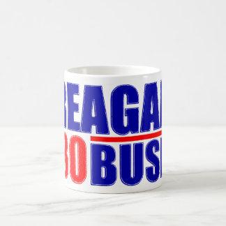 Reagan/Bush '80 Classic White Coffee Mug