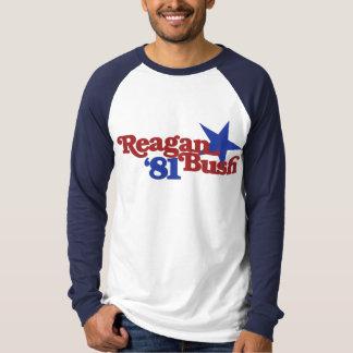 Reagan Bush 81 Tee Shirt