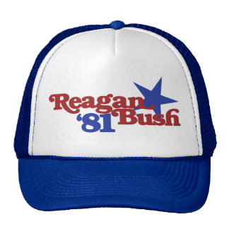 Reagan Bush 81 Trucker Hat