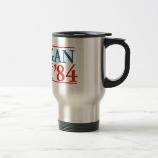 Reagan Bush '84 15 Oz Stainless Steel Travel Mug