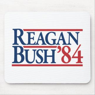 Reagan Bush 84 1984 vintage retro campaign Mouse Pad
