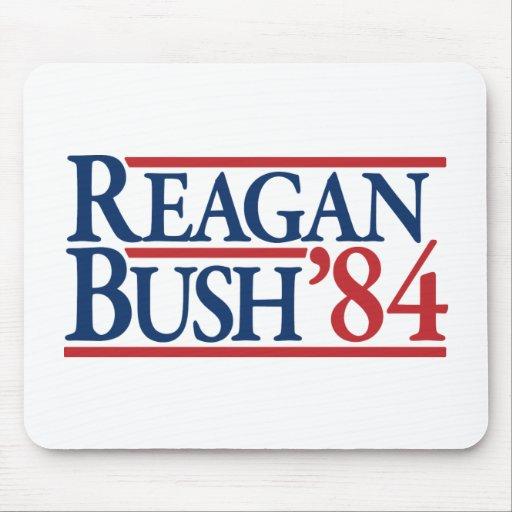 Reagan Bush 84 1984 vintage retro campaign Mouse Pads