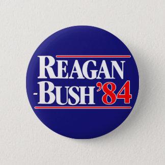 Reagan Bush 84 2 Inch Round Button