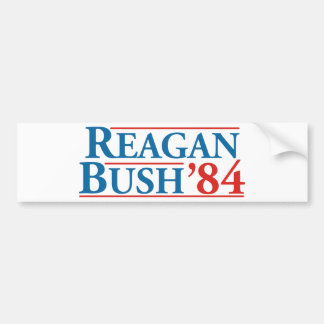 Reagan Bush '84 Bumper Sticker