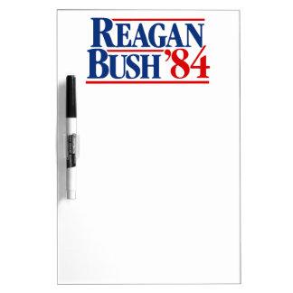 Reagan Bush '84 Campaign Dry-Erase Board