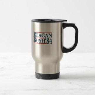 Reagan Bush '84 Stainless Steel Travel Mug