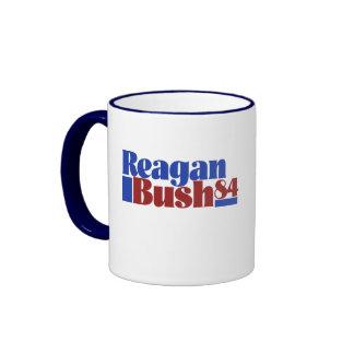 Reagan Bush 84` Ringer Mug