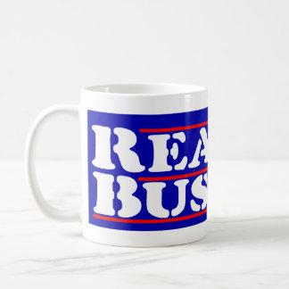 Reagan Bush '84 Stencil Basic White Mug
