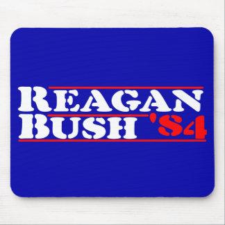 Reagan Bush 84 Stencil Mouse Pad