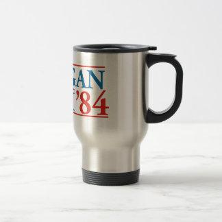 Reagan Bush '84 Travel Mug